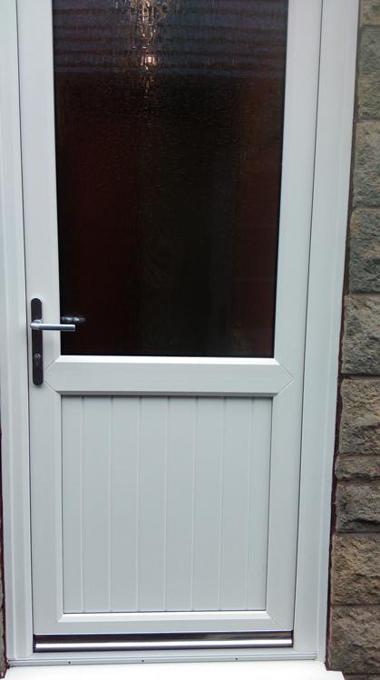 Exterior Kommerling Upvc Door Installers Northumberland Front And Rear Pvc Doors