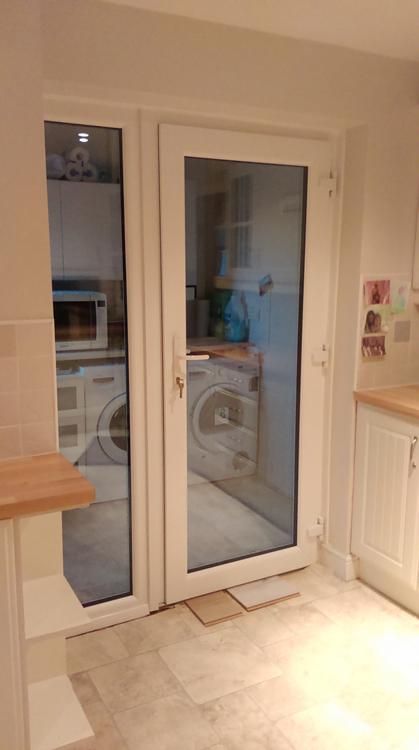 ... Rehau UPVc door installers Newcastle & Exterior Rehau UPVc Door Installers Newcastle Front and Rear PVCu ...