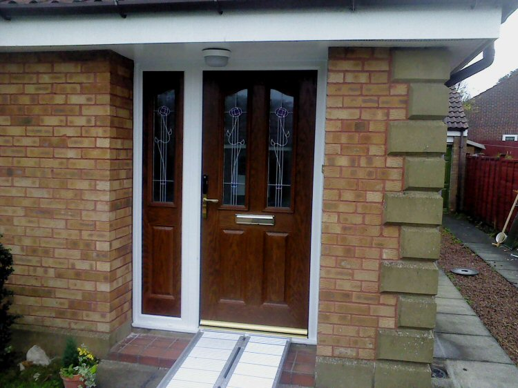 Composite Doors Newcastle With Keyless Entry System