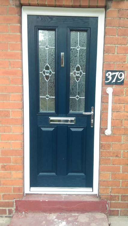 Composite Door Frames : Coloured composite doors northumberland