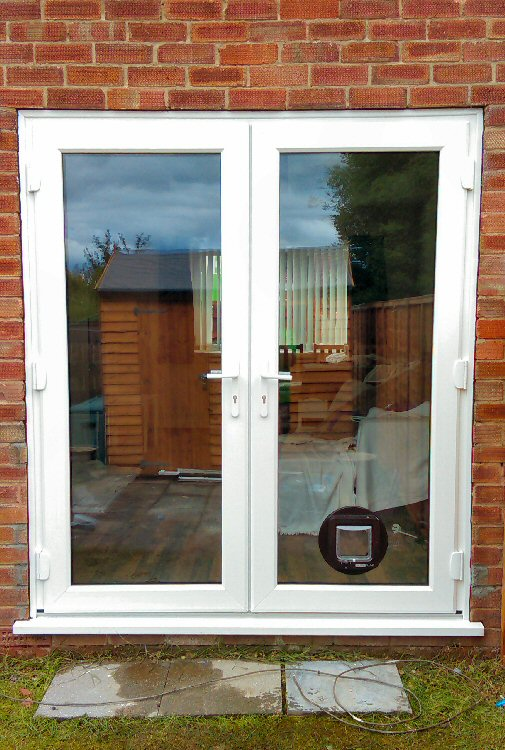 French Door Fitters Gateshead County Durham Cat Flap