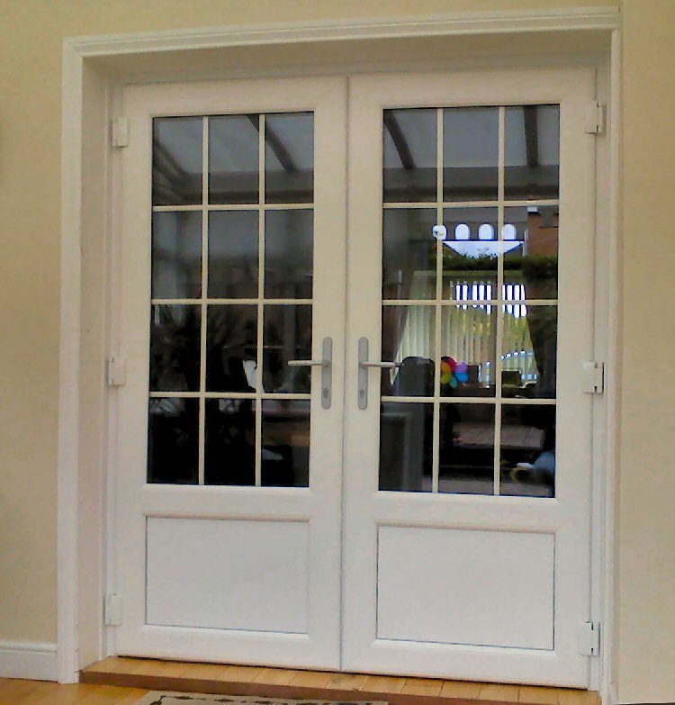 Pvcu french doors interior and exterior french doors for External french doors