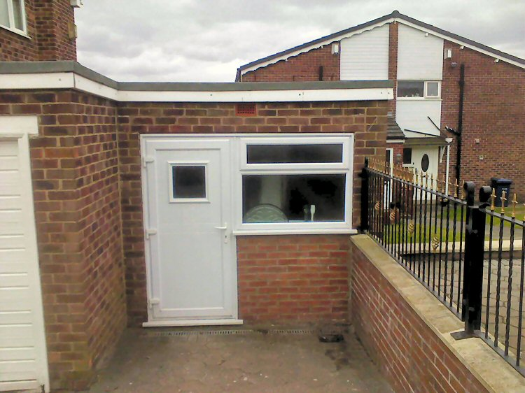 ... garage conversions Newcastle and Northumberland
