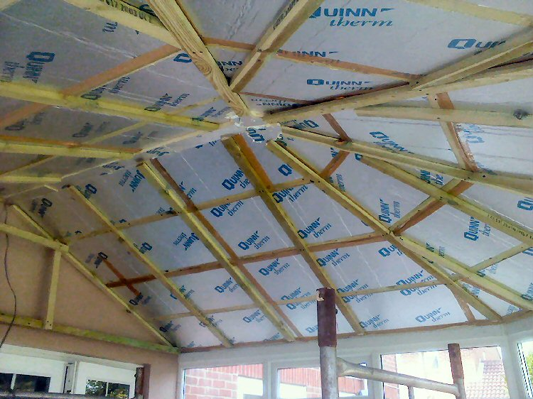 Insulation For Conservatory Roofs Newcastle