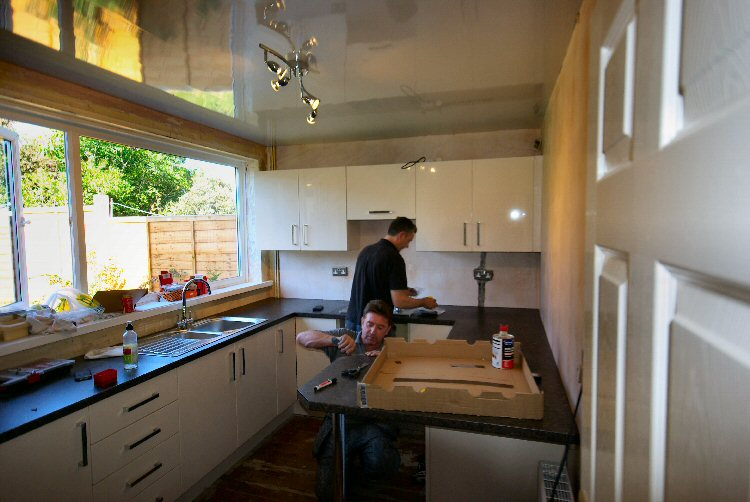Previous Image Next Image Steve Waugh Fitting A Kitchen