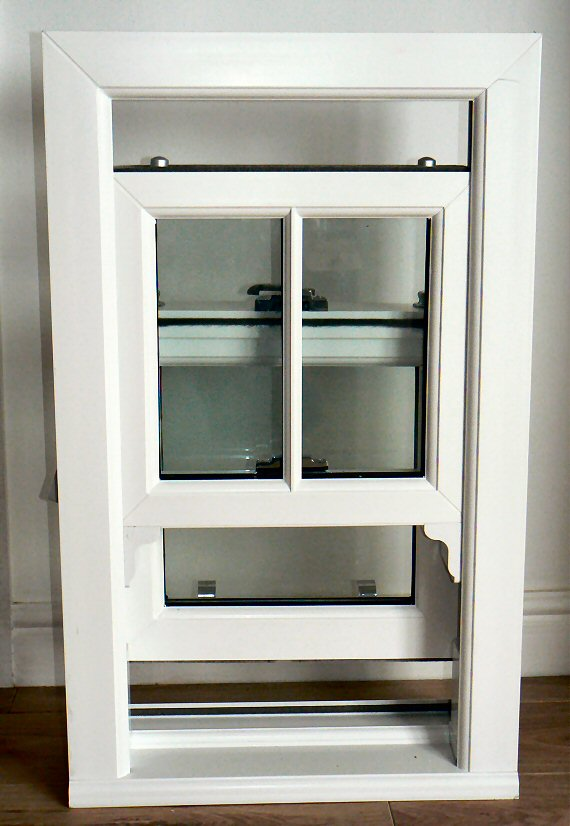 Pvcu Box Sash Windows Sunderland Rehau Double And Triple