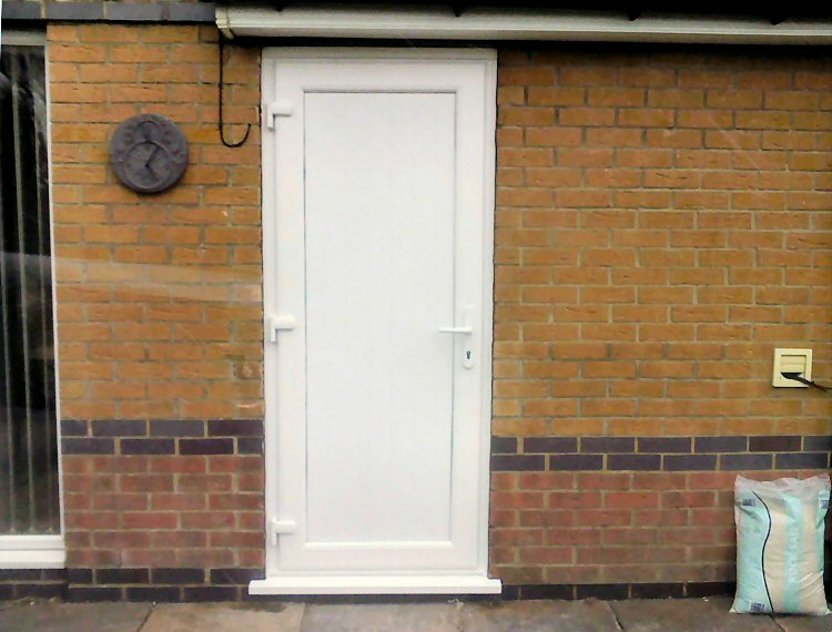 Kommerling pvcu door installers newcastle installed from 490 for Exterior doors fitted