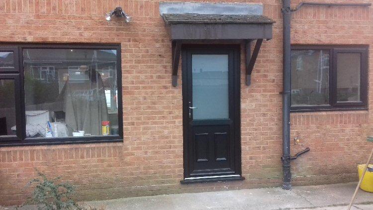 Rehau PVC doors Newcastle upon Tyne & Rehau PVC Doors Newcastle. Composite and PVCu Doors Installed