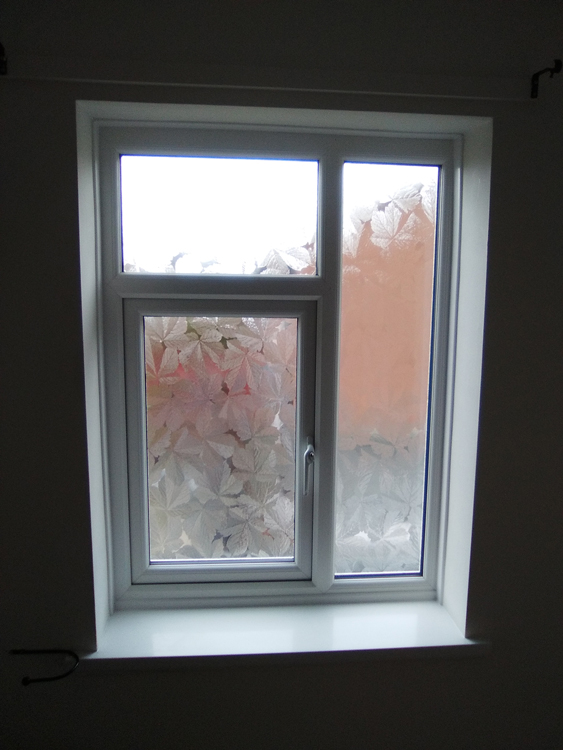 uk availability af6d1 a31c3 Rehau Double Glazed Windows With Frosted Glass Newcastle and ...