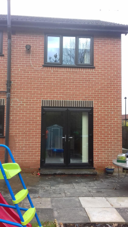 Triple Glazed French Doors York Supply Only